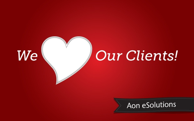 A Valentine to our valued clients